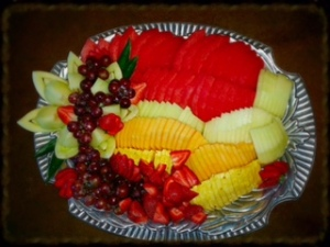 seven loaves fruit tray