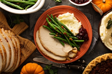 holidays bigstock thanksgiving dinner plate